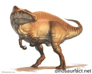 Newtonsaurus Dinosaur