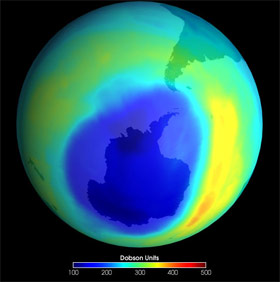 Earth Ozone Layer